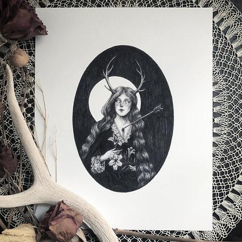 Hunter's Kiss - Fine Art Print