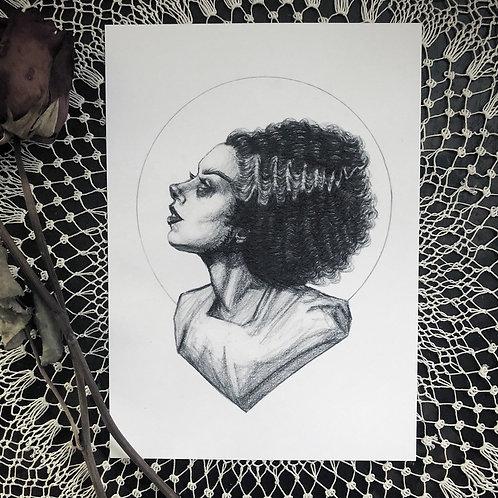The Bride - Fine Art Print
