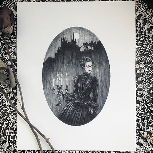 The Haunting - Fine Art Print