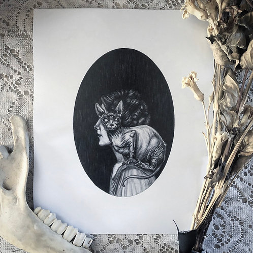 The Familiar - Fine Art Print
