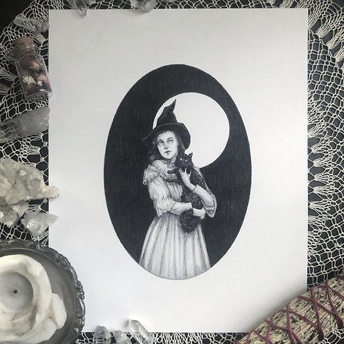 Winnie & Shadow - Fine Art Print