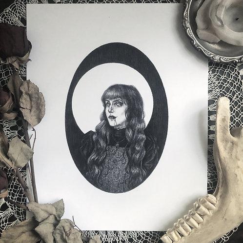 Nadja - Fine Art Print
