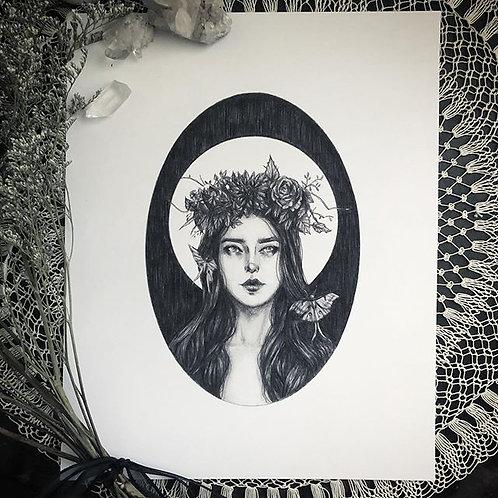 Luna - Fine Art Print