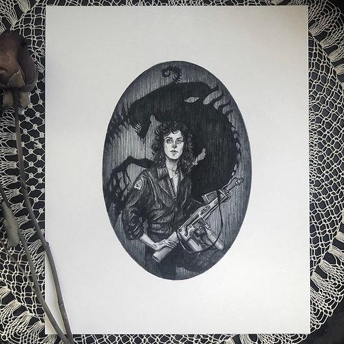 Ripley - Fine Art Print