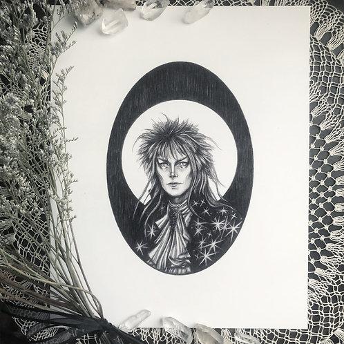 Jareth the Goblin King - Fine Art Print