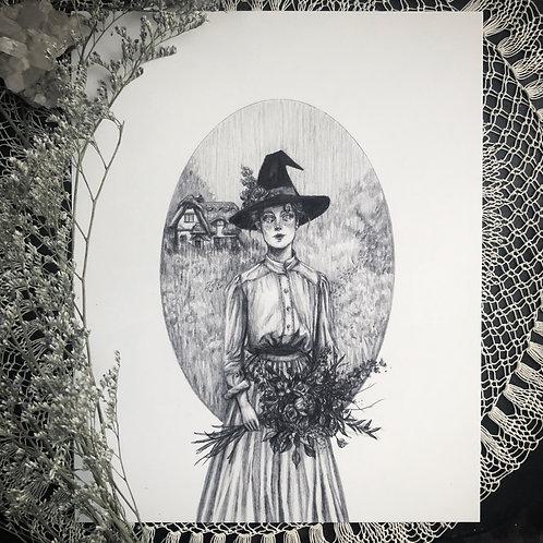Flora - Fine Art Print