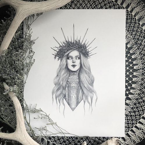 Demeter - Fine Art Print