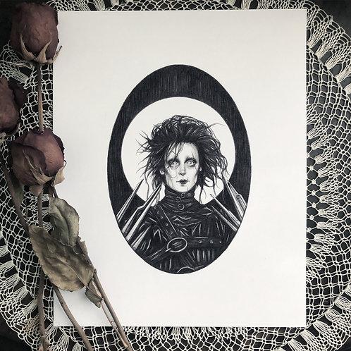 Edward Scissorhands - Fine Art Print