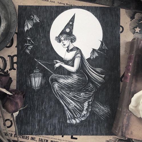 By Lantern Light - Fine Art Print