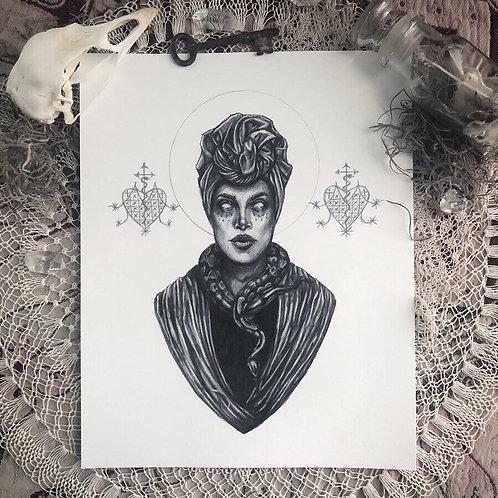 Voodoo Queen - Fine Art Print
