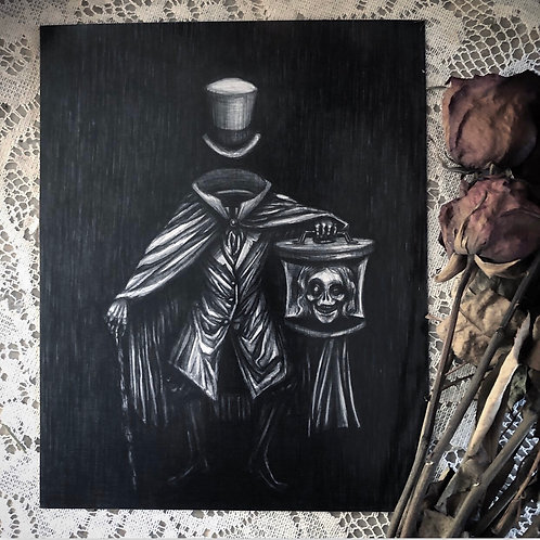 The Hatbox Ghost- Fine Art Print