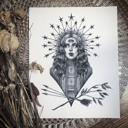 The Oracle -  Fine Art Print