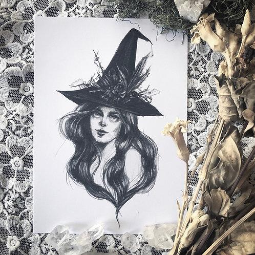 Woodland Witch - Fine Art Print