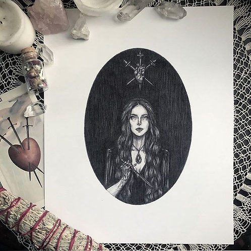 The Love Witch - Fine Art Print