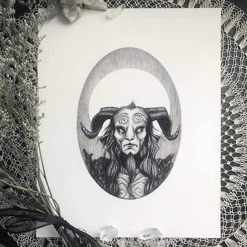 The Faun - Fine Art Print