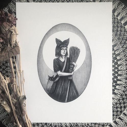 Kiki & Jiji - Fine Art Print