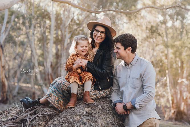 Alicja and her family