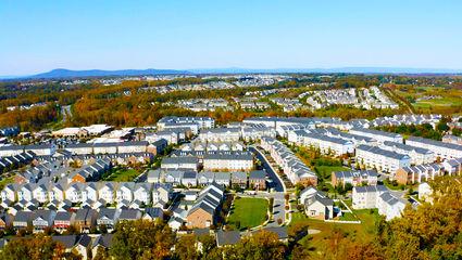 Aerial Photo Of Clarksburg