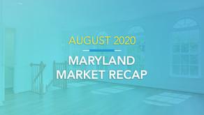 August 2020 Housing Market Recap