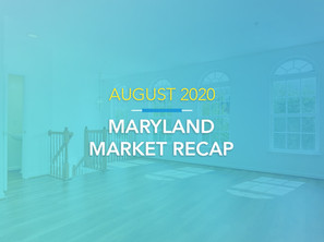 August 2020 Housing Market Recap