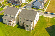 Drone Photograph of house