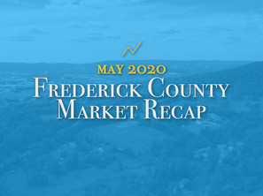 Frederick County Housing Market Recap: May 2020