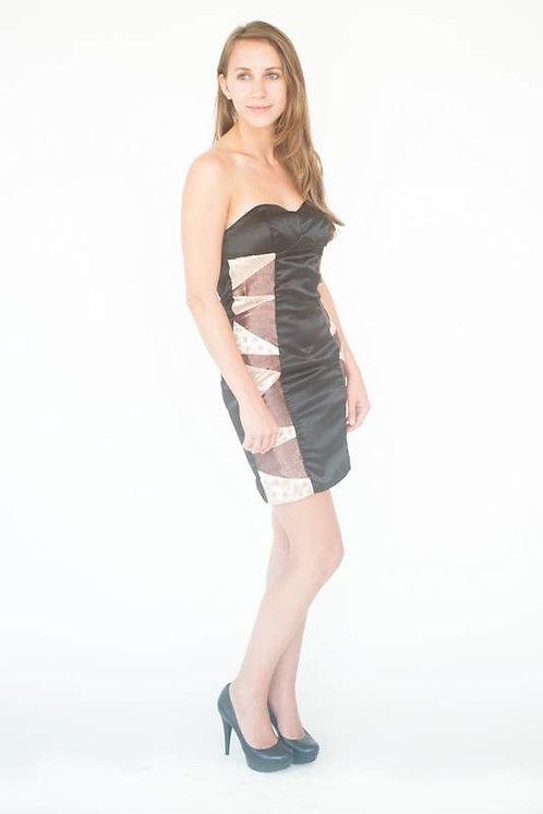 Little Black Strapless Date Night Dress Size 00
