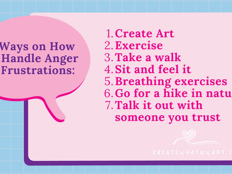 7 Ways to Cope with Anger and Frustrations