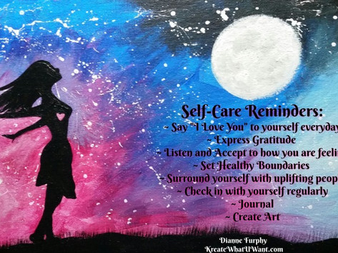 Self-Care & Self-Love Tips and Art-Based Exercises