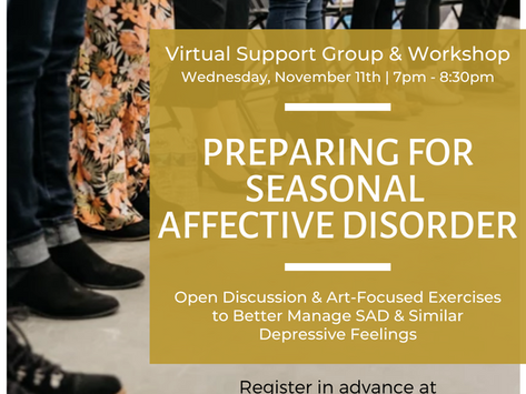 Virtual Workshop for Women: Seasonal Affective Disorder
