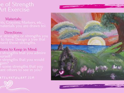 Tree of Strength Art Exercise