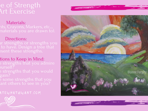 Tree of Strength Art Exercise