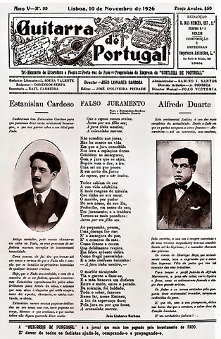 GUITARRA  DE PORTUGAL 10 NOVEMBRO DE 192