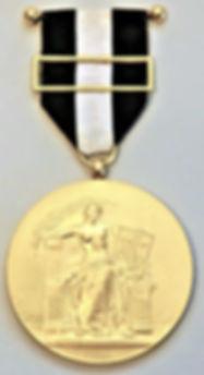 Medalha de ouro da Cidade de Lisboa v.JP