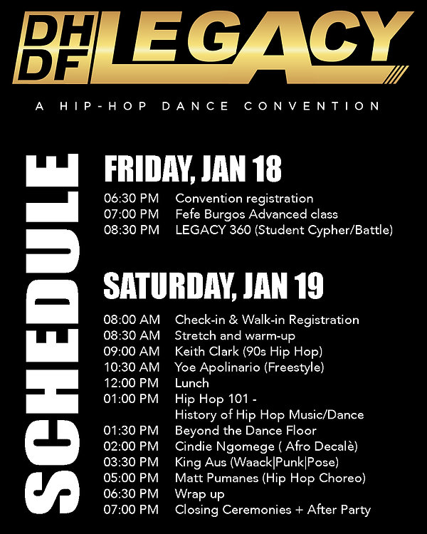 Legacy Hip Hop Convention