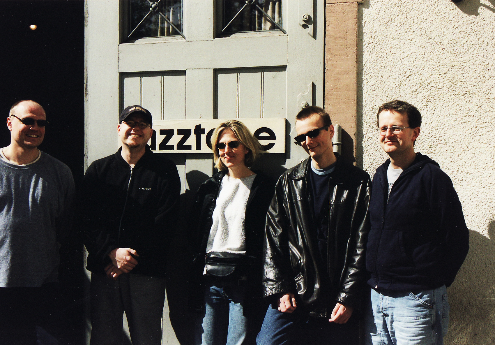 with Ingrid Jensen on tour, Lörrach Jazztone