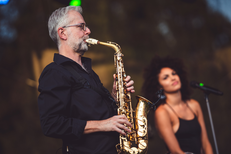 Saxophonist Ulli Jünemann