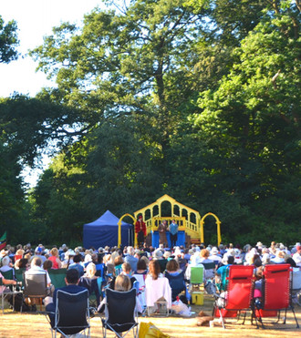 OPEN AIR THEATRE SEASON GOES AHEAD AT LYTHAM HALL