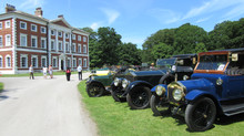 Veteran cars visit Lytham Hall