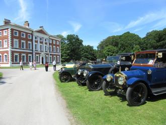 Veteran cars visit Lytham Hall