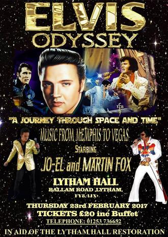 Lytham Hall becomes Graceland