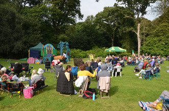 Open Air Theatre at Lytham Hall