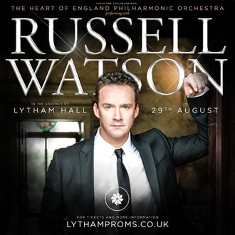 RUSSELL WATSON TO HEADLINE AT LYTHAM HALL