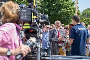 Expert Paul Atterbury filming.jpg