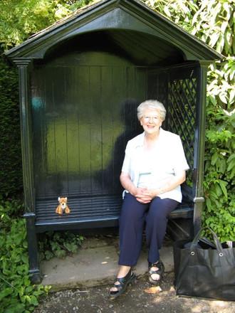 Sandra Allen one of our most treasured volunteers