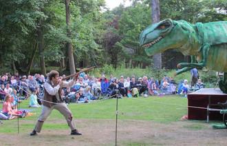 BOOM TIME FOR LYTHAM'S OPEN AIR THEATRE