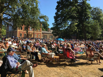What a summer of open air plays at Lytham Hall!