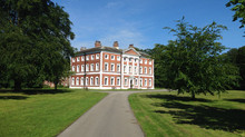 Tidying up at Lytham Hall