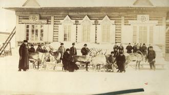 Christmas in Siberia, 1901