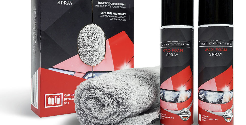 WAX-SCHAUM Spray - AUTOMOTIVE Set
